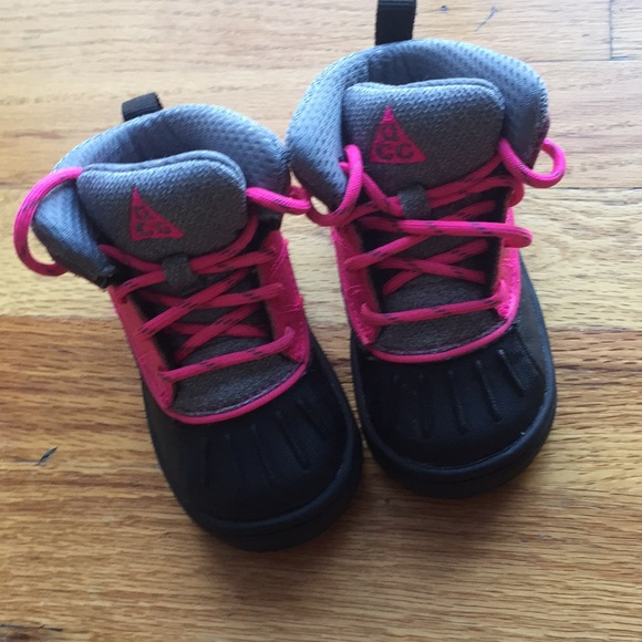 Infant Nike Pink Boots